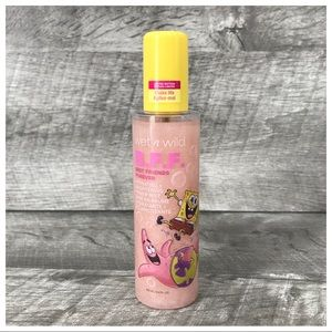 Spongebob Wet Wild Nautical Hydrating Primer Mist